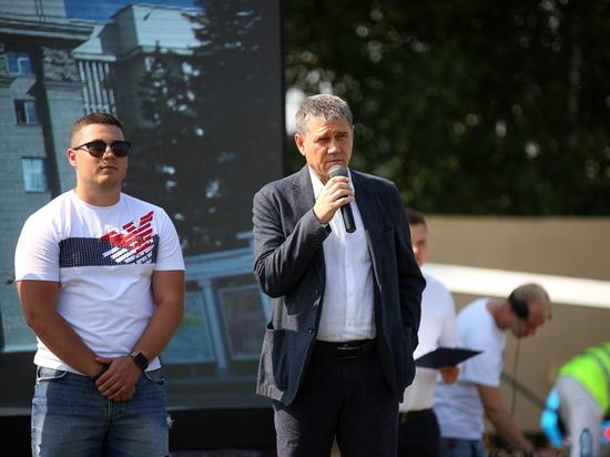 В Дзержинском районе Новосибирска прошла районная спартакиада