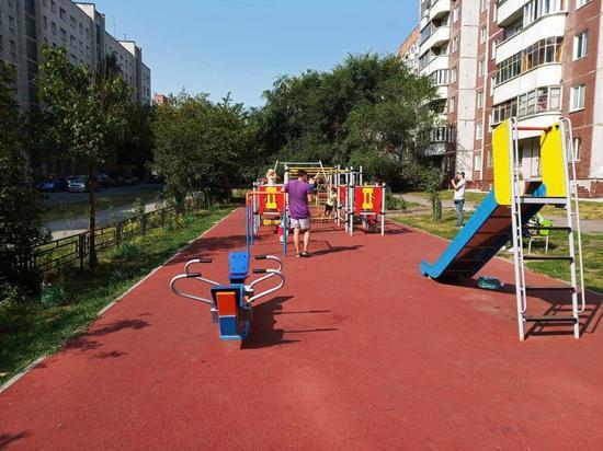 В Новосибирске продолжается благоустройство придомовых территорий