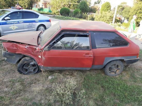 Несовершеннолетний водитель без прав пострадал, попав в ДТП