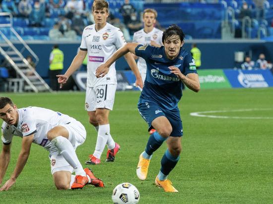 Азмун принес «Зениту» победу, Семак показал слабость своей команды