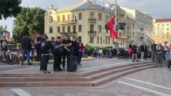 В Минске сторонники оппозиции собрались на площади Независимости