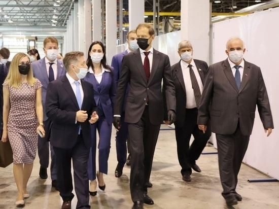 Министр промышленности Денис Мантуров посетил Костромской завод автокомпонентов