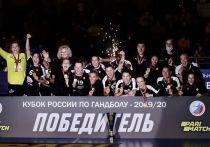 В Москве завершился «Финал четырех» Кубка России по гандболу среди женских команд. Победителем в шестой раз подряд стала команда «Ростов-Дон».