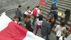 С флагом и барабанами: центр Минска заполонили протестующие