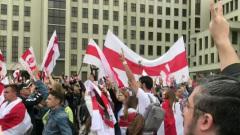 На митинге протеста в Минске оппозиция призвала разбирать заграждения