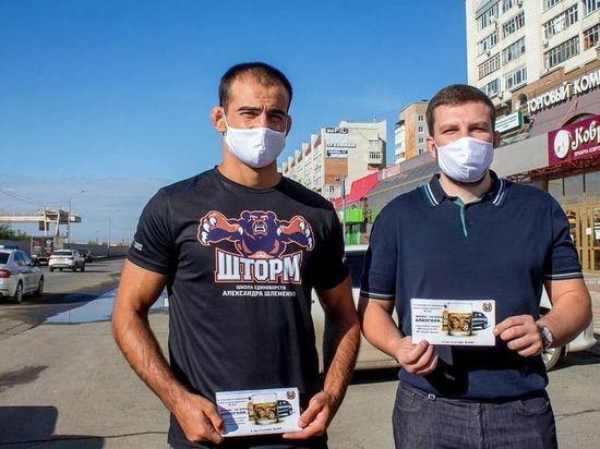 Омские спортсмены и ГИБДД искали любителей выпить за рулем