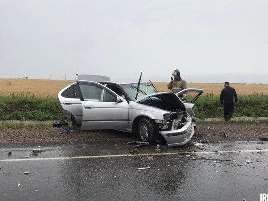 Два человека пострадали в ДТП в Черемховском районе