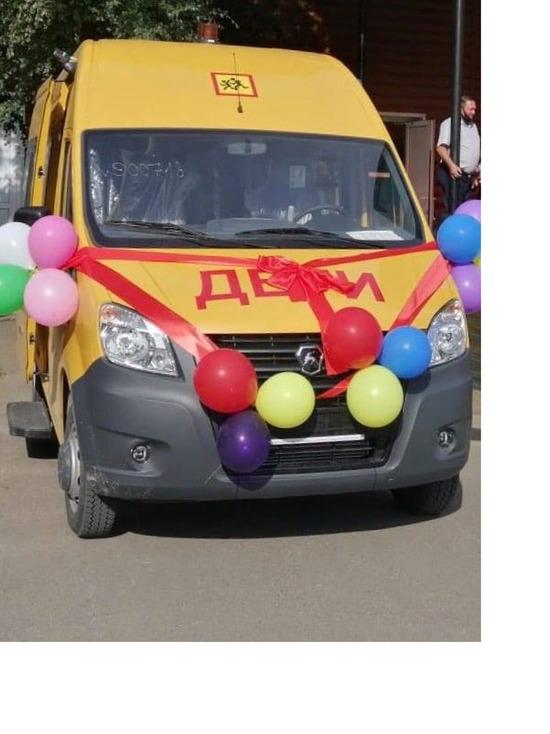 В Бурятии тарбагатайские школьники получили автобус к 1 сентября