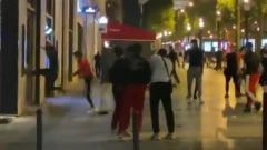 Фанаты после проигрыша ПСЖ в финале Лиги Чемпионов разгромили Париж