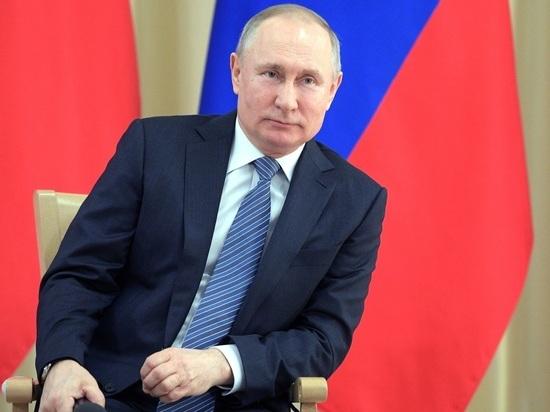 Путин заявил о снижении численности населения России