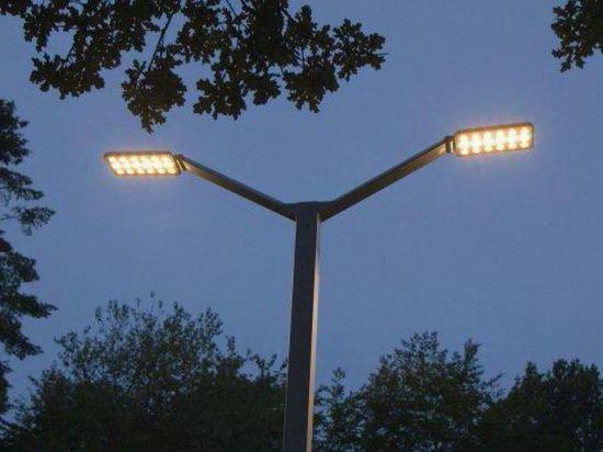 Теперь центр Костромы будут освещать светодиодные фонари без проводов