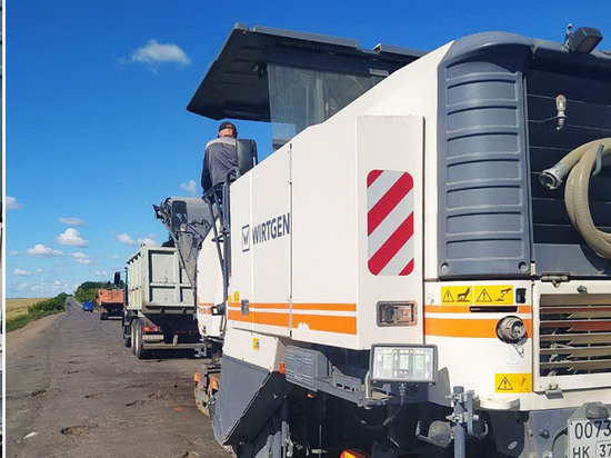 В Ивановской области начат ремонт дороги Гаврилов Посад – Осановец – Скомово