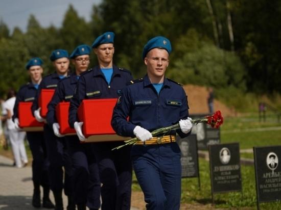Погибшего во время Великой Отечественной войны бойца из Иванова перезахоронили под Тверью