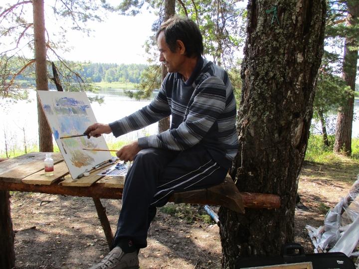 Под Андреаполем прошел летний пленэр художников