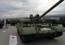 Омские танки показали в Москве