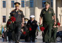 Шойгу обсудил в Баку военное сотрудничество России и Азербайджана