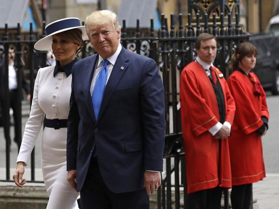 Меланья Трамп заверила, что супруг не прекратит борьбу с коронавирусом