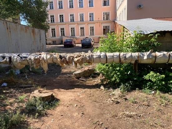 Оренбурженка жалуется на закрытые проходы