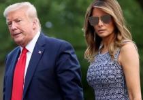 Супруга американского президента Мелания Трамп приняла участие в предвыборном съезде Республиканской партии, обратившись к слушателям из Розового сада Белого дома