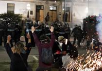 В США новая вспышка расовых волнений поразила штат Висконсин