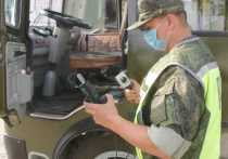 Военные инспекторы проводят внеплановый диагностический контроль технического состояния ТС