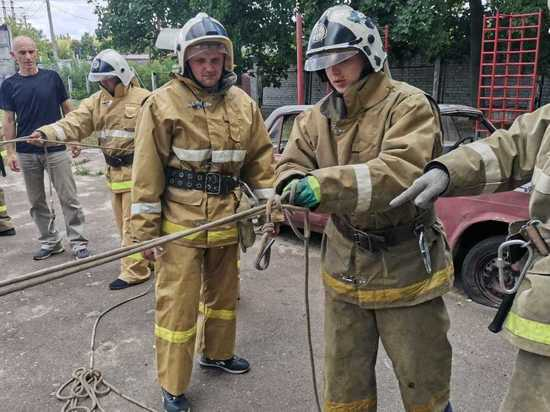 В Курске учебный пункт готовит новых огнеборцев Противопожарной службы
