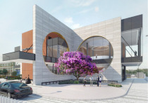 Необычное здание Дворца торжеств будет построено в подмосковной Шаховской