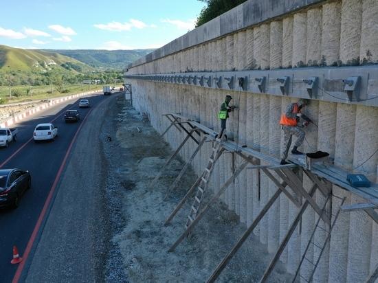 Автодорогу на Кисловодск укрепят подпорными стенами