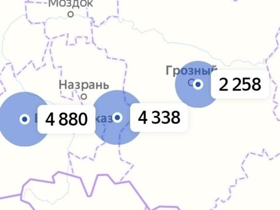 Чечня - среди регионов с наименьшими темпами прироста случаев COVID-19