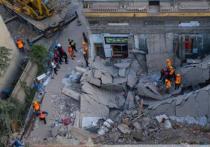 Обрушение двухэтажного ресторана в Китае, случившееся во время празднования дня рождения, привело к гибели трех десятков человек