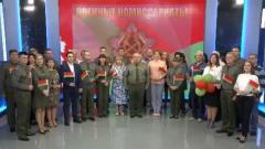 Белорусские военные поздравили Лукашенко с днем рождения: пафосные кадры