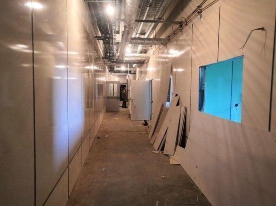 Инфекционную больницу в Пскове полностью построили за 2 месяца