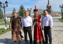 Глава Тувы поздравил Рустама Минниханова с Днем республики Татарстан