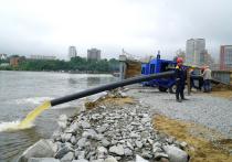 Из-за паводка в Хабаровске ввели режим повышенной готовности
