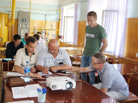 В Новочебоксарске ПАО «Химпром» «встает на рельсы» бережливого производства