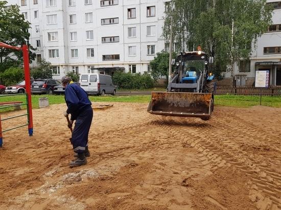 С глаз долой, детишек – вон! Из дворов Пскова исчезают детские площадки