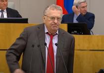Жириновский объявил борьбу с коммунизмом и начал с конфет