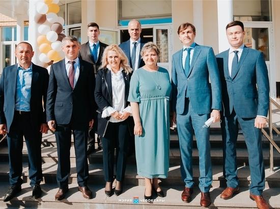 Министр просвещения открыл в Чебоксарах новую школу и вручил награды педагогам