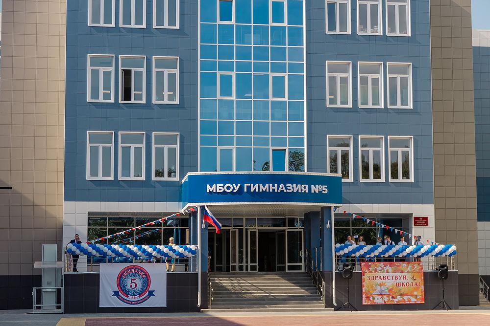 Новый учебный год в новых стенах: фоторепортаж из школы в Горроще