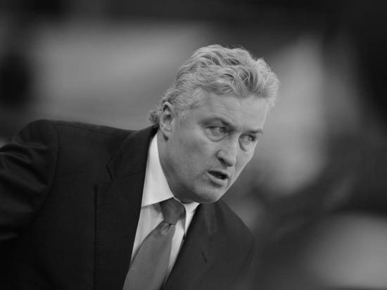 Бывший тренер «Спартака» и СКА Милош Ржига скончался на 62-м году жизни