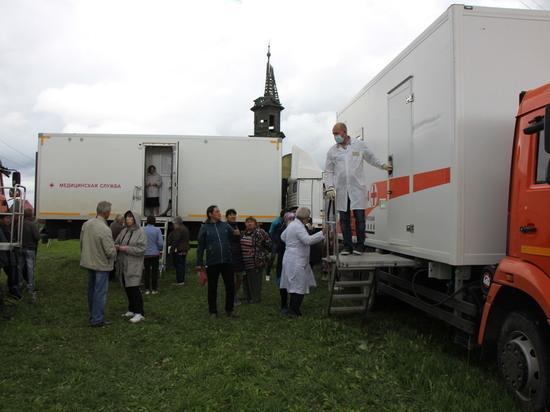 В Тюменской области поликлинику поставилина колёса