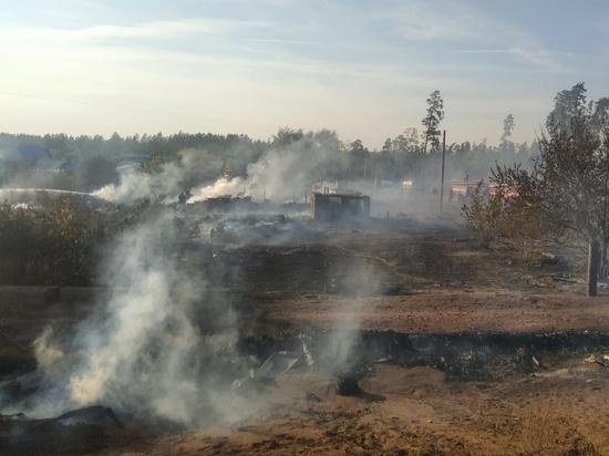 В Оренбургской области объявлен V класс пожарной опасности