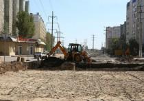 В Астрахани из-за тепловых сетей и канализации затягивается ремонт дорог