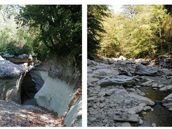 В Адлерском районе Сочи пересохло русло реки Псахо