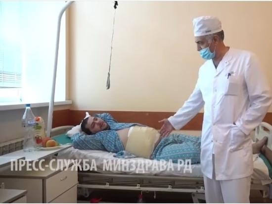 В Дагестане мужчина сам себя ранил кинжалом