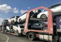 На трассе «Оренбург-Орск» задержали автовоз с крадеными машинами
