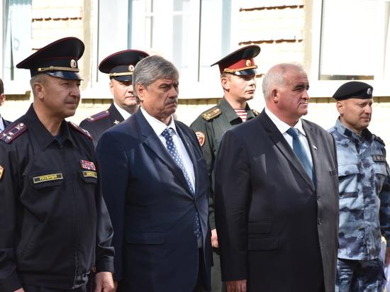 В Костромской области открыли мемориальную доску погибшему воину - земляку