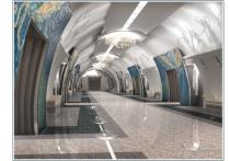 Вестибюль новой станции метро разместят между Наличной улицей и Галерным ковшом (см