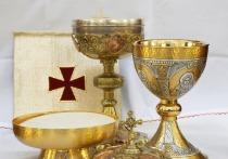 В Британии нашли древнеримскую чашу с гравированными христианскими символами