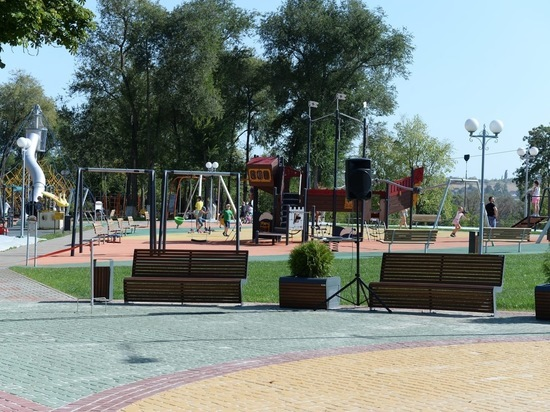 При поддержке Металлоинвеста в Губкине после реновации открыт городской парк